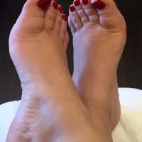 BBW Foot Fetish